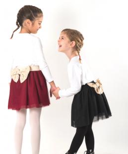 τουλινη μαυρη φουστα για κορίτσια