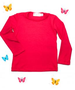 κόκκινη μπλούζα παιδική ελαστική