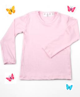 ροζ μπλουζα για κορίτσια μακρυμάνικη ελαστική