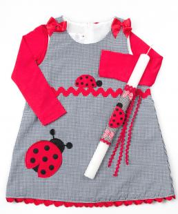 Φόρεμα Πασχαλίτσα Λαμπάδα