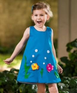 φόρεμα για κορίτσια βυθός
