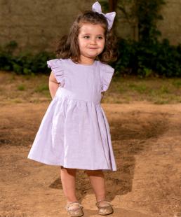 λινο παιδικό φόρεμα