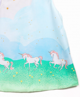 παιδικό φόρεμα Μονόκερος