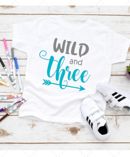 wild and three tshirts