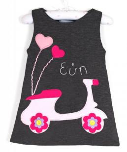 παιδικό φόρεμα βέσπα με όνομα