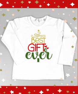 παιδική χριστουγεννιάτικη μπλούζα