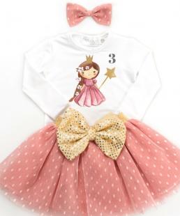 σετ γενεθλίων για κορίτσια Πριγκίπισσα