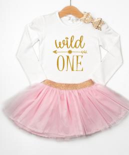 ρούχα για Πρώτα Γενέθλια wild one
