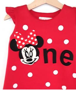 φόρεμα για πρώτα γενέθλια Minnie