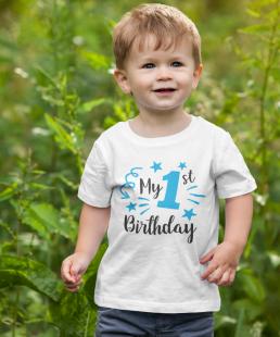 μπλουζάκι πρώτα γενέθλια