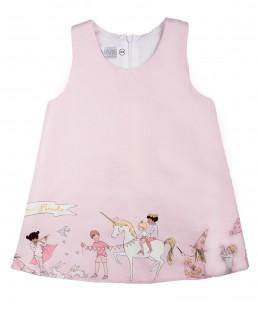 ροζ καλοκαιρινό φόρεμα για κορίτσια