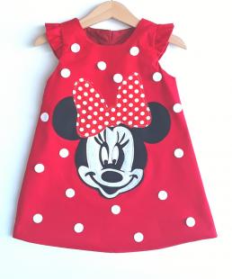 φόρεμα minnie mouse