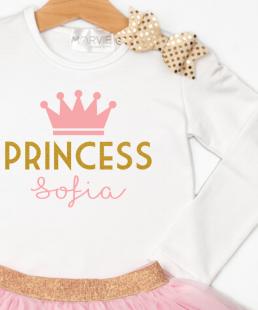 ρούχα για κορίτσια Πριγκίπισσα με όνομα