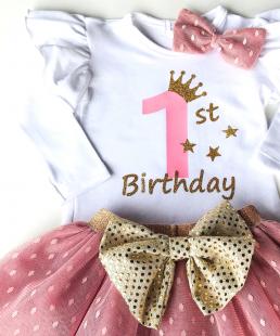 σύνολο γενεθλίων 1st Birthday