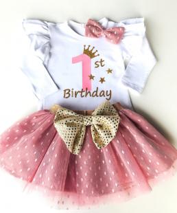 σετ γενεθλίων 1st Birthday