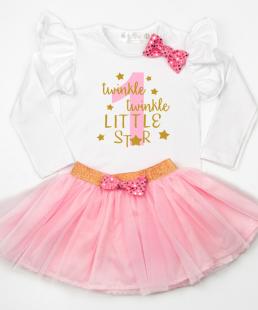 σύνολο πρώτα γενέθλια twinkle twinkle