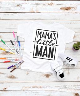 μπλουζάκι για αγόρια mama's little man