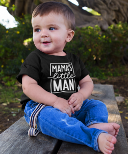 mamas little man t-shirt