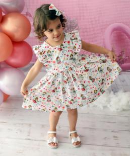 καλοκαιρινό φόρεμα με κορίτσια