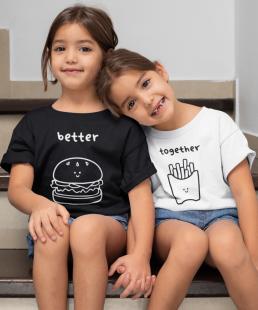 μπλουζάκια για δίδυμα
