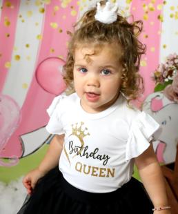 τούλινο σετ γενεθλίων Birthday Queen