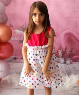 Παιδικό τούλινο φόρεμα γενεθλίων