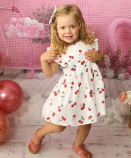 φόρεμα κερασάκι για κορίτσια